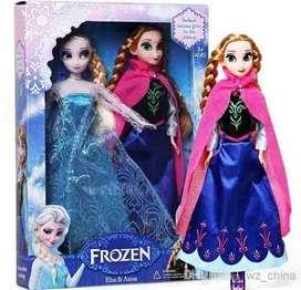 set de frozen ana y elsa juguetes