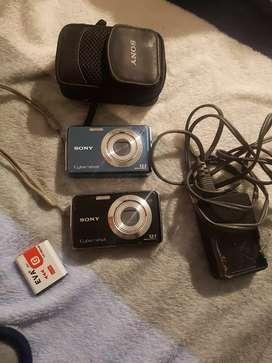 Vendo cámaras digitales sony