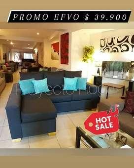 Sofa Esquinero Hot Sale hasta 14/5