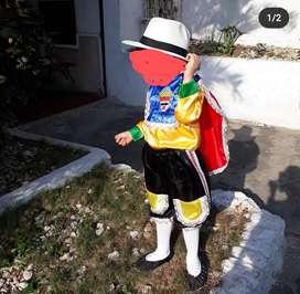 disfraz garabato niño