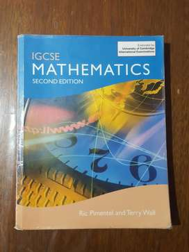 Mathematics Second Edition Igcse