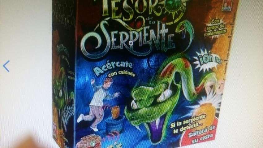 Juego El Tesoro de La Serpiente 0