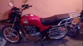 Motocicleta marca Haojue
