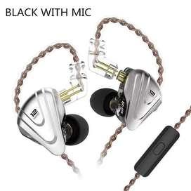 Audifonos Kz Zsx Terminator Con Microfono - Negro