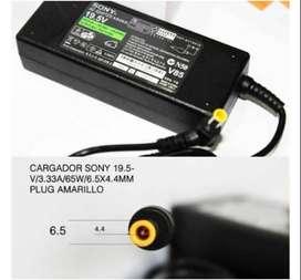 CARGADOR SONY 19.5v 2.0a 39w 6.5x4.4mm