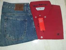 Camisa manga larga CH talla S. Jean polo Ralph Lauren talla 30