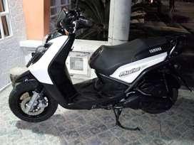 se vende motocicleta yamaha bwis blanca modelo 2013