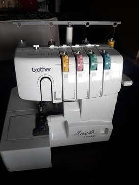 Máquina de coser overlock familiar