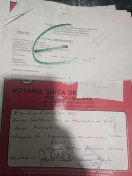 LOTE 10X20 EXCELENTE UBICACIÓN PARTE CENTRAL DE FONSECA