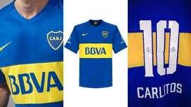 Camiseta Boca 10 Carlitos 2016
