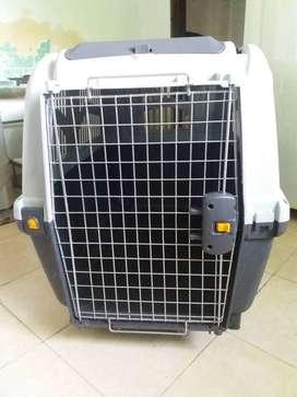 Transportadora canil perro, para avion skudo 6 (92x63x70)