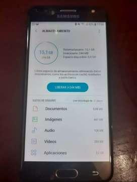 Samsung J5 prime 16gb con huella