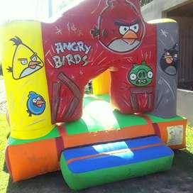 Castillo 3 X 3 Angry Birds Y Mickey Alquiler