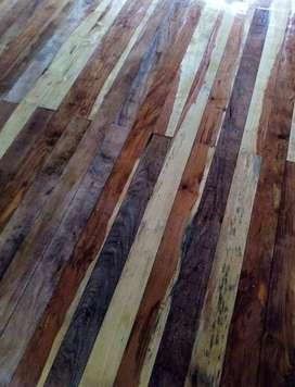 Pulido /Plastificado de pisos de madera
