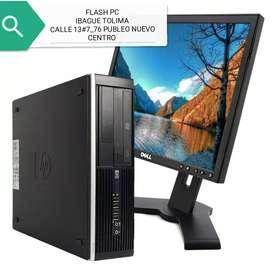 Oferta computadores lenovo intel dual con monitor 17 garantía