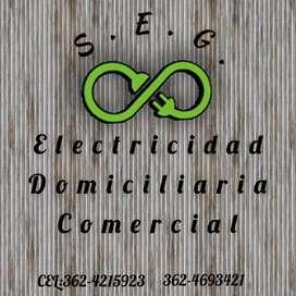 Electricidad Comercial y Domiciliaria