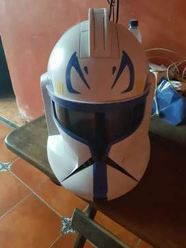 Vendo casco capitan rex star wars