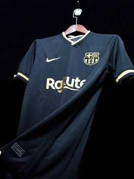 Camiseta Barcelona Negra 2020