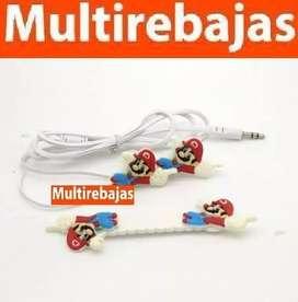 Audífonos de Muñeco Mario Bros