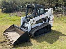 Bobcat T590 4100hrs originales 2015, ORUGAS EN CAUCHO, importado americano