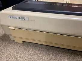 Vendo impresora EPSON FX 1170- Matricial ideal Fact. A y B