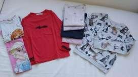 Camisetas de niña talle 6