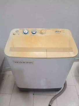 Lavadora doble tina de 6 Kg