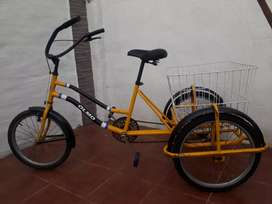Biciclleta tricicleta