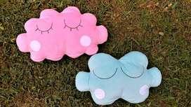 Cojines almohada nubes decorativas