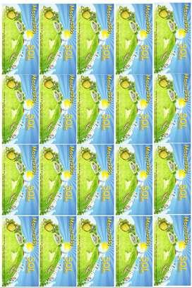 Stickers de varios tamaños
