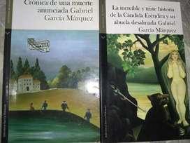 Se vende dos libros de la blibloteca de Gabriel García Márquez
