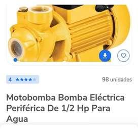 Motobomba bomba eléctrica periférica de 1/2 hp para agua