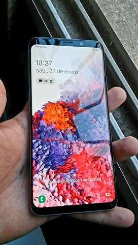samsung S9 PLUS Como nuevo con cargador funda, templado 64GB Y 6GB de ram