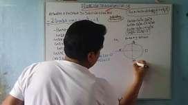 Profesor de matemática, física, química y biología