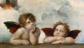 Querubines Raphael Santi