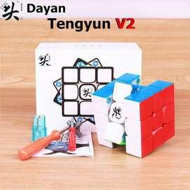 Cubo Rubik 3x3 Dayan Tengyu V2 M Speed Magnetico Original