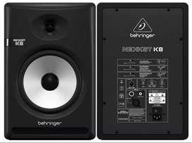 Monitores Behringer activos Bi-amplificados K8