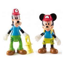 FIGURA MICKEY AND GOOFY FIGURAS ARTICULABLES MICKEY AND THE ROADSTER RACERS
