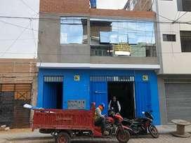 Alquiler de local comercial de 280m2 en chiclayo cerca al centro.
