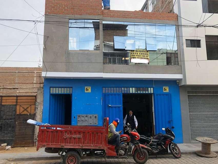 Alquiler de local comercial de 280m2 en chiclayo cerca al centro. 0