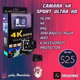 CÁMARA 4K DH HD