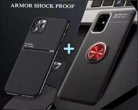 Forros Protectores X 2 Para Samsung A31 Magnéticos + Envío