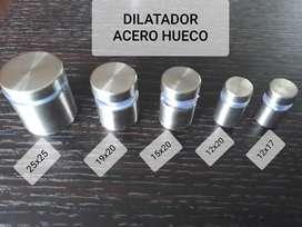 DILATADORES ACERO HUECO SEÑALIZACION 19X25