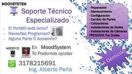 Mantenimiento Soporte Técnico Windows Programas, Antivirus Reparamos A domicilio Impresoras y Más