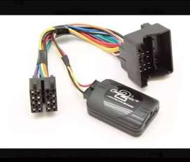 Interface BMW serie 3 y marco adaptador estereo de 1 din y doble din