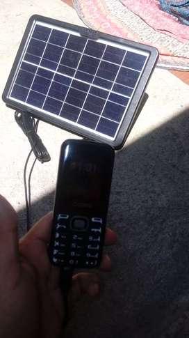 Vendo panel solar para cargar con el sol todo tipo de celular