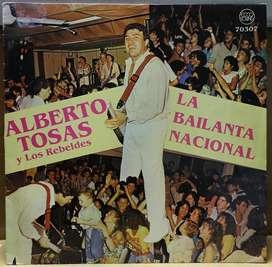 Disco Vinilo Alberto Tosas La bailanta nacional
