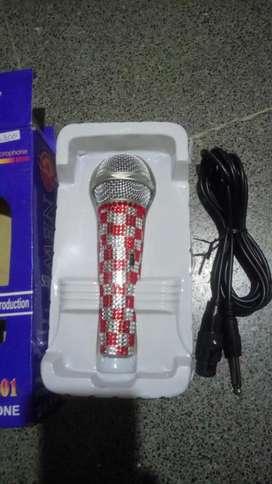 Micrófono p la música