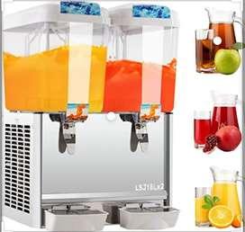 dispensador de bebidas frías con capacidad para tanque 18 litros esta máquina se puede utilizar para diferentes bebidas