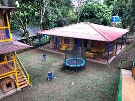 Casa de campo para descanso